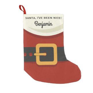 Petite Chaussette De Noël Noël drôle le père noël j'ai été Nice coutume