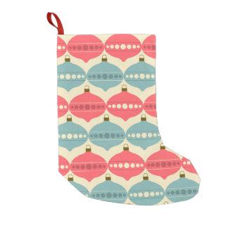 Petite Chaussette De Noël Rétro bas de motif de décoration de Noël