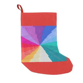 Petite Chaussette De Noël stockage multicolore d'onChristmas de vortex
