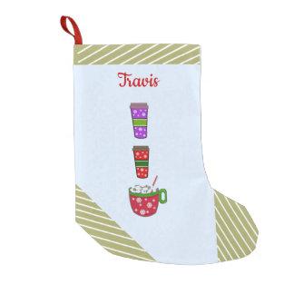 Petite Chaussette De Noël Tasses de Noël d'acclamation