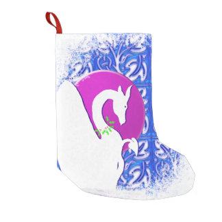 Petite Chaussette De Noël Vacances blanches de lune du dragon I (ornement