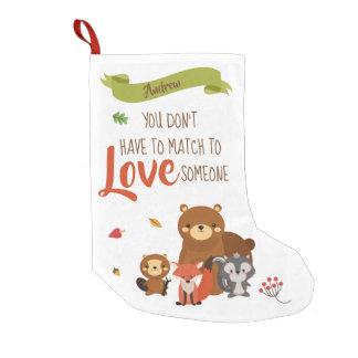 Petite Chaussette De Noël Vous ne devez pas être assortis pour aimer