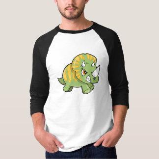 Petite chemise dure rugueuse de dinosaure t-shirt