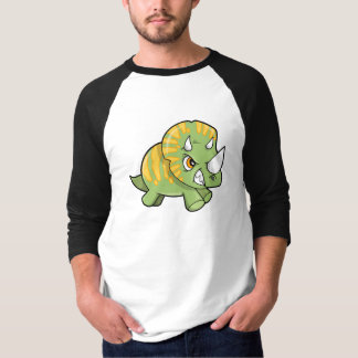 Petite chemise dure rugueuse de dinosaure t-shirts