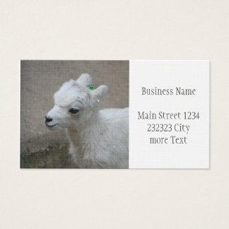 petite chèvre cartes de visite