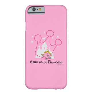 Petite couronne rose géante de Mlle le princesse   Coque Barely There iPhone 6