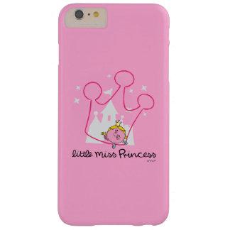 Petite couronne rose géante de Mlle le princesse   Coque iPhone 6 Plus Barely There