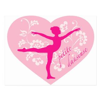 Petite danseuse carte postale