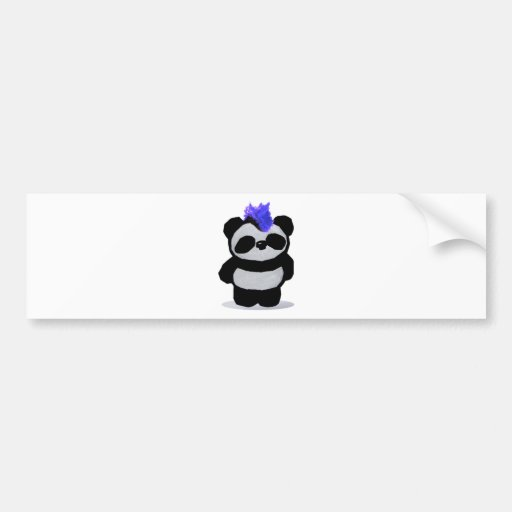Petite édition 2010 de panda adhésifs pour voiture