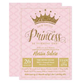 Petite ?ère invitation d'anniversaire de princesse