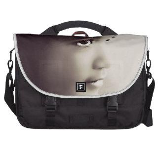 Petite fille vintage sacs ordinateur portable
