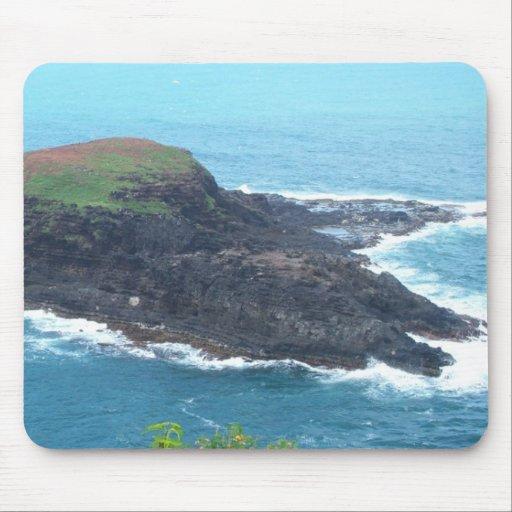 Petite île Mousepad Tapis De Souris