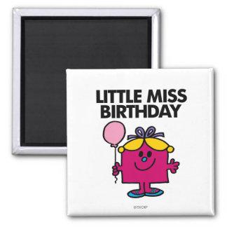 Petite Mlle Birthday Classic 1 Aimants Pour Réfrigérateur