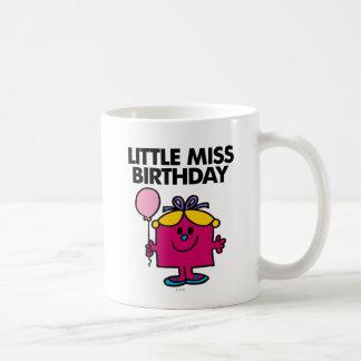 Petite Mlle Birthday With Pink Balloon Mug