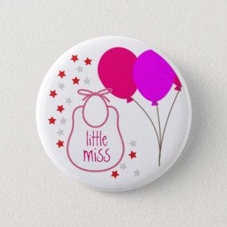 Petite Mlle (c'est une fille) bouton Badges