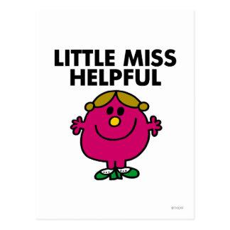 Petite Mlle Helpful Classic Carte Postale