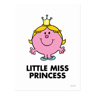 Petite Mlle princesse Classic Cartes Postales