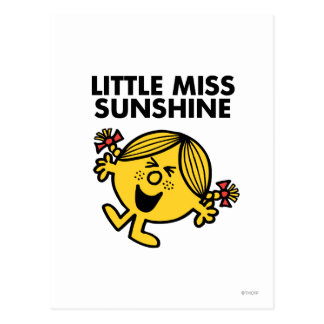Petite Mlle Sunshine Carte Postale