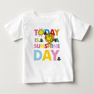 Petite Mlle Sunshine   est aujourd'hui un jour de T-shirt Pour Bébé