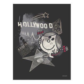 Petite Mlle Sunshine In Hollywood Carte Postale