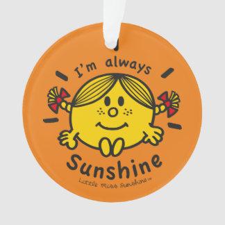 Petite Mlle Sunshine | je suis toujours soleil