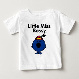 Petite petite Mlle Bossy de la Mlle   est si T-shirt Pour Bébé