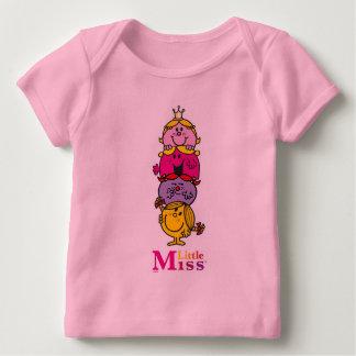 Petite petite Mlle Standing Tall de la Mlle   T-shirt Pour Bébé