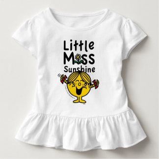 Petite petite Mlle Sunshine Laughs de la Mlle   T-shirt Pour Les Tous Petits