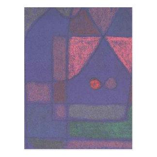 Petite pièce à Venise par Paul Klee Carte Postale