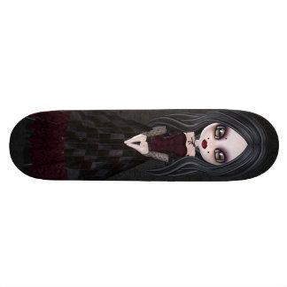 Petite planche à roulettes mignonne et déplaisante skateboards personnalisés