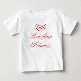 Petite princesse brésilienne t-shirt pour bébé