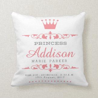 Petite princesse Nursery Pillow Coussin