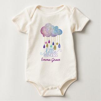 Petite princesse Rainbow Cloud et bébé d'or Body