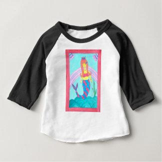 Petite sirène mignonne t-shirt pour bébé