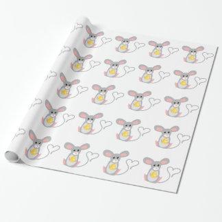 Petite souris papier cadeau