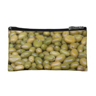 Petite Trousse De Maquillage Fermez-vous des olives vertes