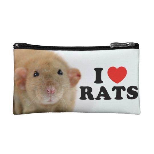 Petite Trousse De Maquillage I love (burmese) Rats