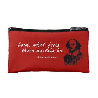 Petite Trousse De Maquillage Les imbéciles de William Shakespeare citent le