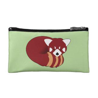 Petite Trousse De Maquillage Panda rouge