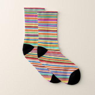 Petites chaussettes d'impression d'amusement tout