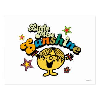 Petites étoiles et fleurs de Mlle Sunshine | Carte Postale