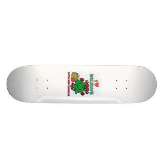 Petites vacances d'amour de Mlle Christmas | I Skateboards Personnalisables