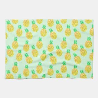 Petits ananas - serviettes de thé
