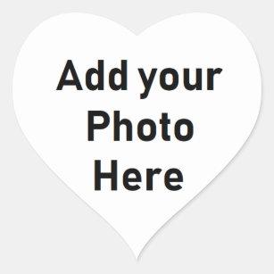 Petits autocollants personnalisés de photo en
