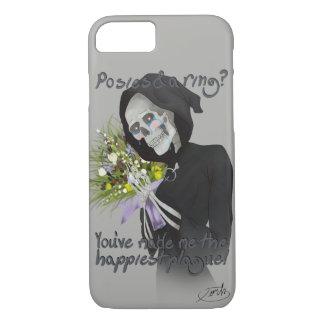 Petits bouquets de peste (visage et disposition coque iPhone 7