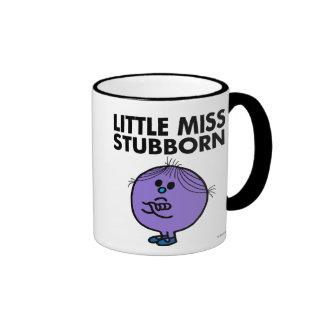 Petits bras de Mlle Stubborn | croisés Mug Ringer