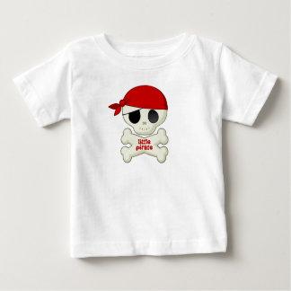 Petits crâne de pirate et T-shirt d'enfants d'os