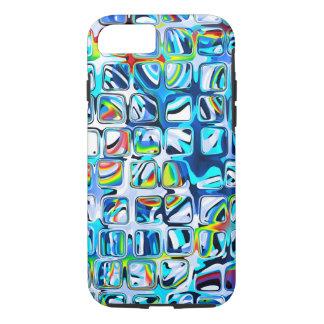 Petits cubes colorés psychédéliques coque iPhone 7