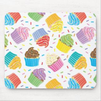 Petits gâteaux colorés tapis de souris