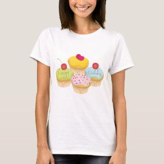 Petits gâteaux d'anniversaire t-shirt